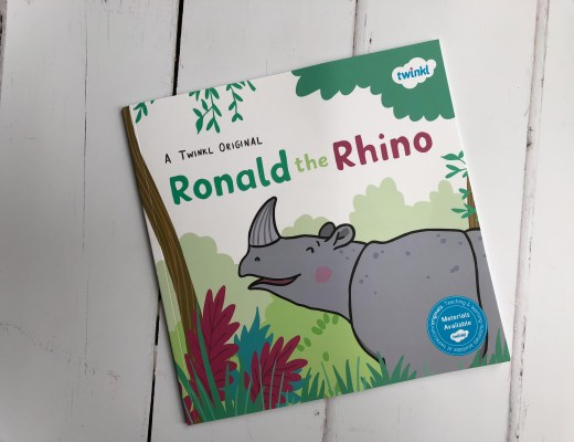 Win a copy of Ronald the Rhino from Twinkl