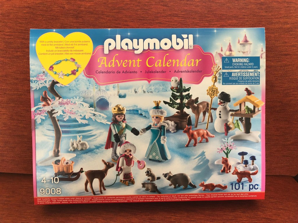 Royal Ice Skating Trip which is a Playmobil Advent Calendar
