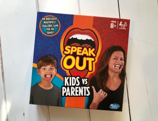 Speak Out Kids vs Parents {game review}