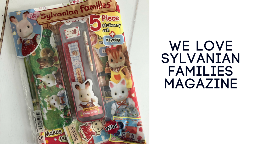 We Love Sylvanian Families magazine giveaway