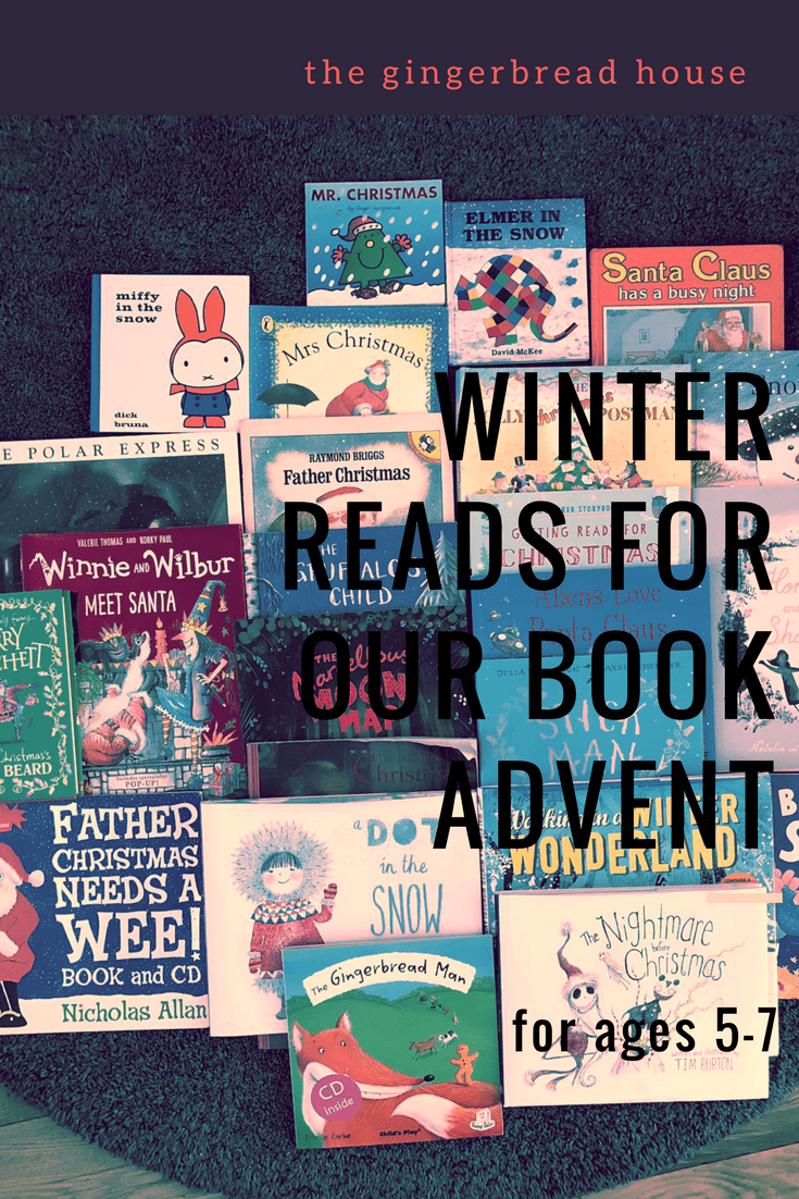 Our 2017 Book Advent books (perfect for 5-7 year olds)