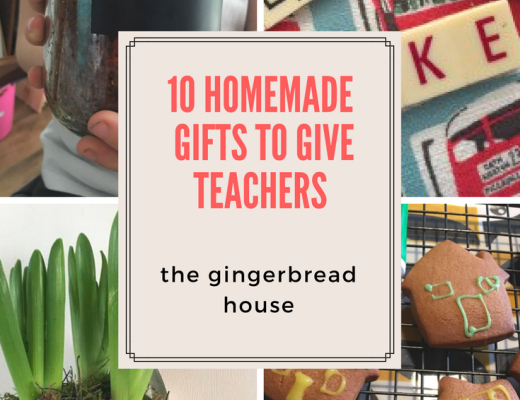 10 Homemade gifts to give teachers
