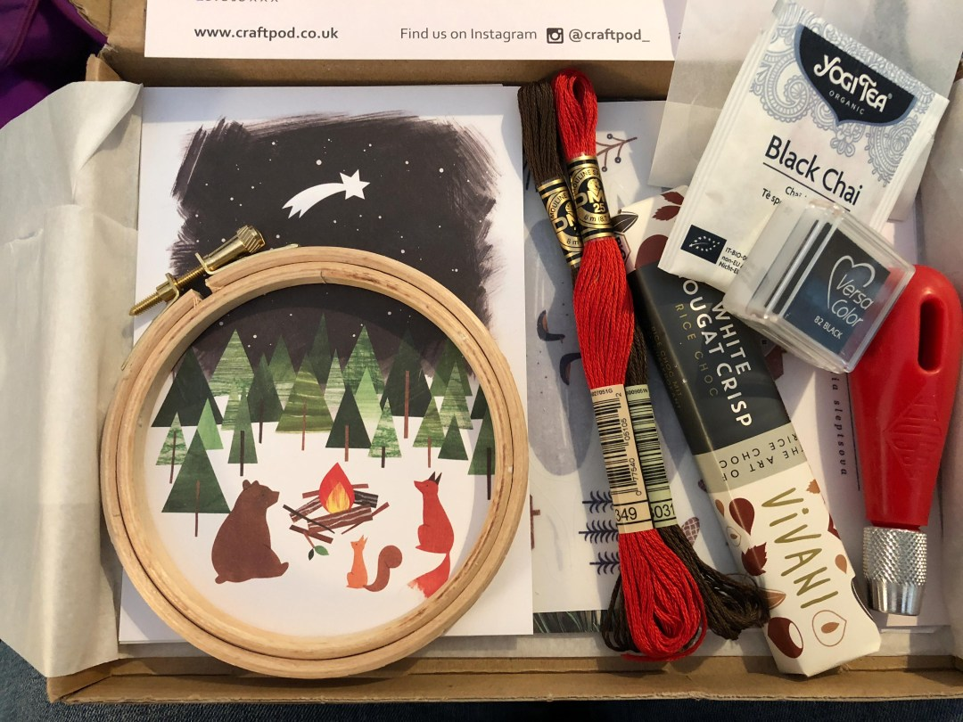 Winter Craftpod box