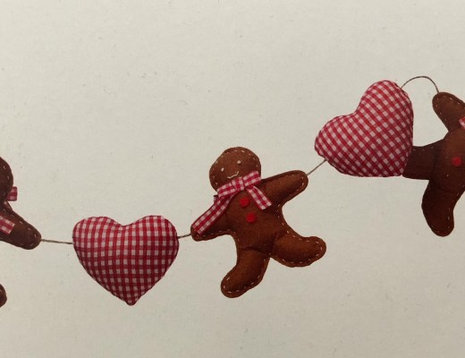 Win a Hobbycraft Gingerbread Man Bunting Sewing Kit