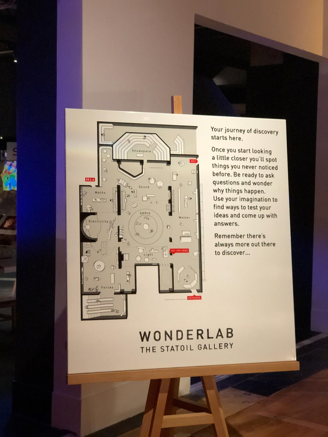 Wonderlab at The Statoil Gallery