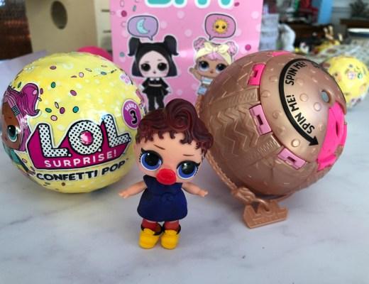 Celebrating Galentine's Day with L.O.L Surprise! Confetti Pop!