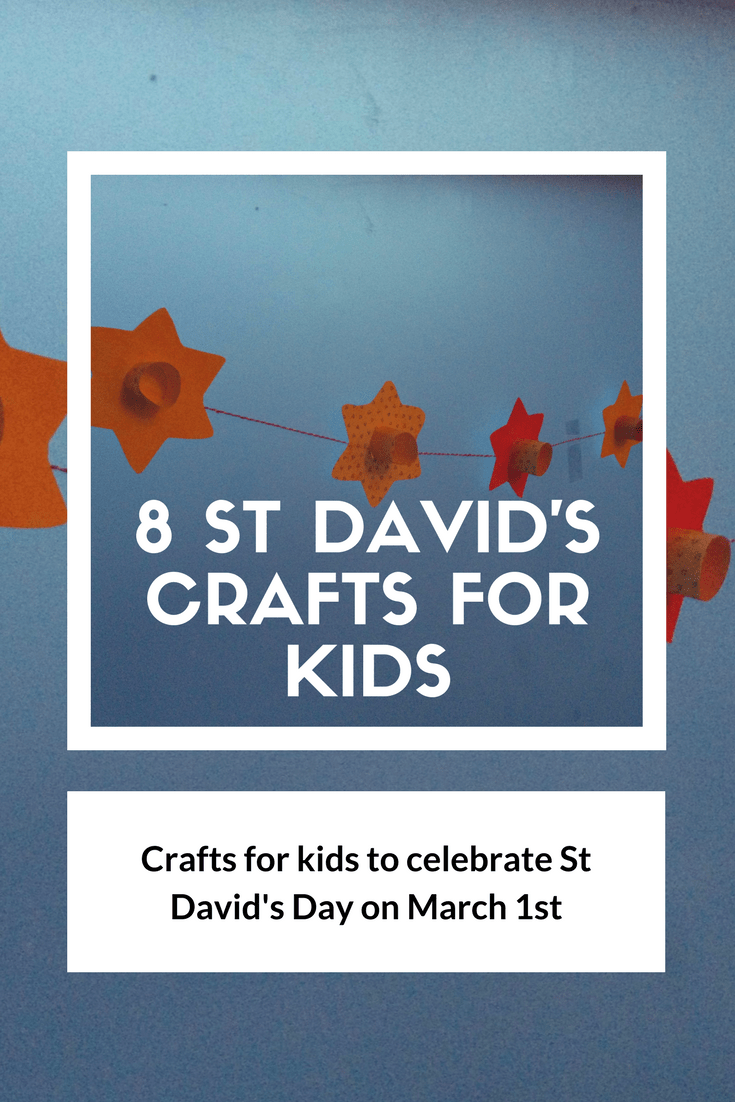 8 St Davids Day Crafts For Kids The Gingerbread House