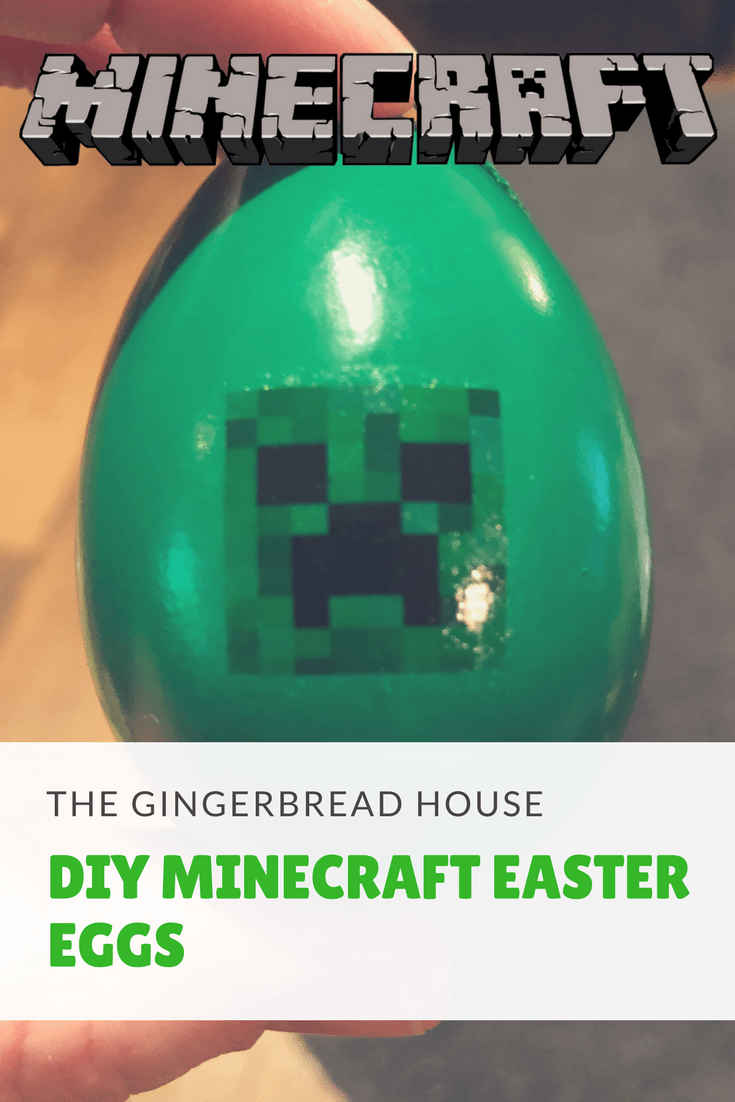 how to make Minecraft Easter eggs