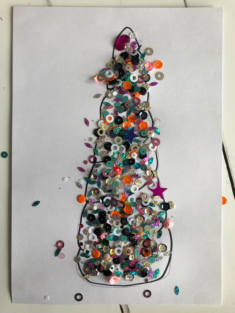 glitter unicorn craft for kids