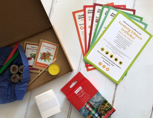 Mud and Bloom: a nature and gardening subscription box for kids