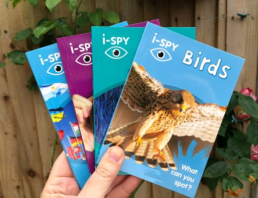 Low-cost Summer activities for kids - i-SPY books