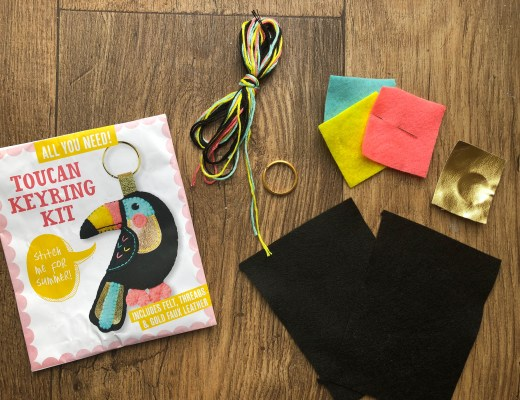 Mollie Makes Toucan Keyring Kit