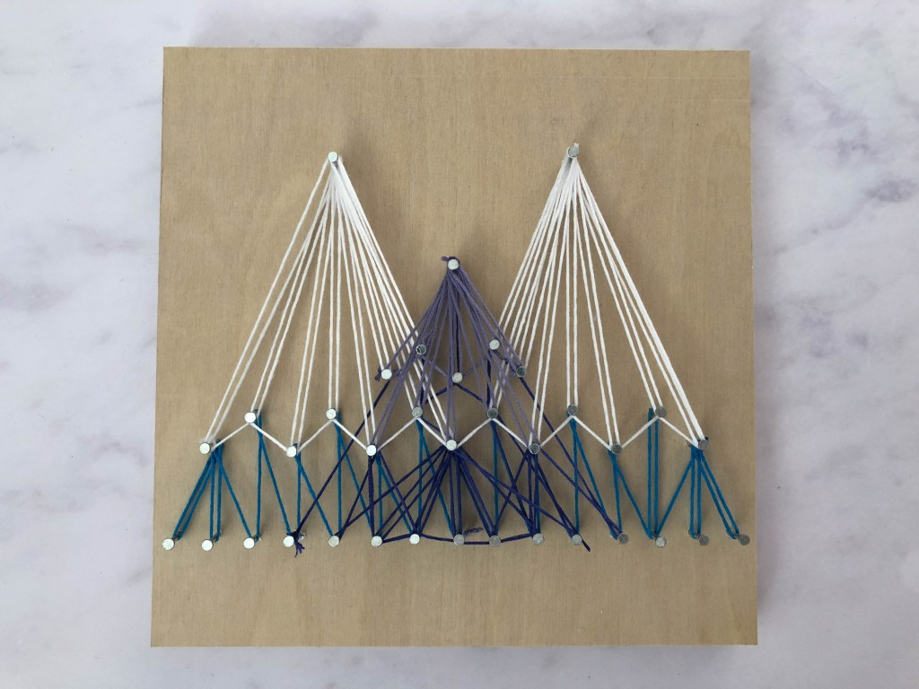 making string art for the home
