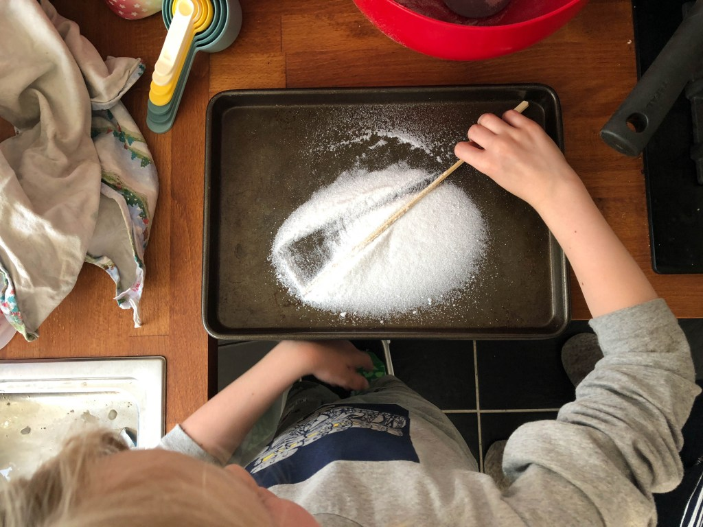making candy crystals