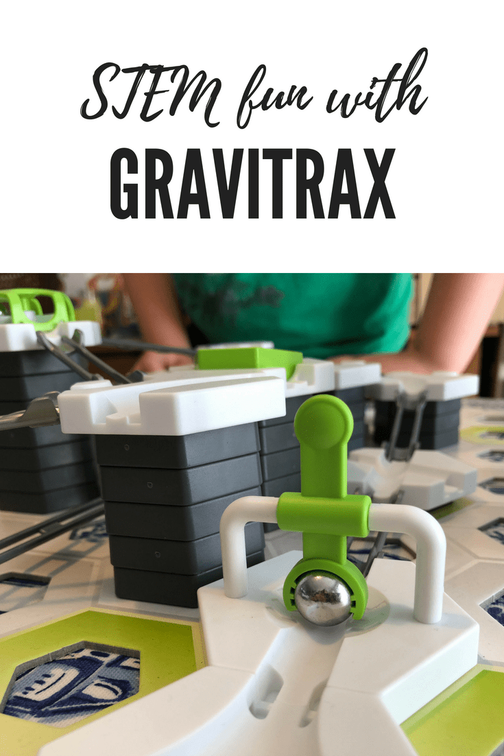 STEM fun with GraviTrax interactive track system