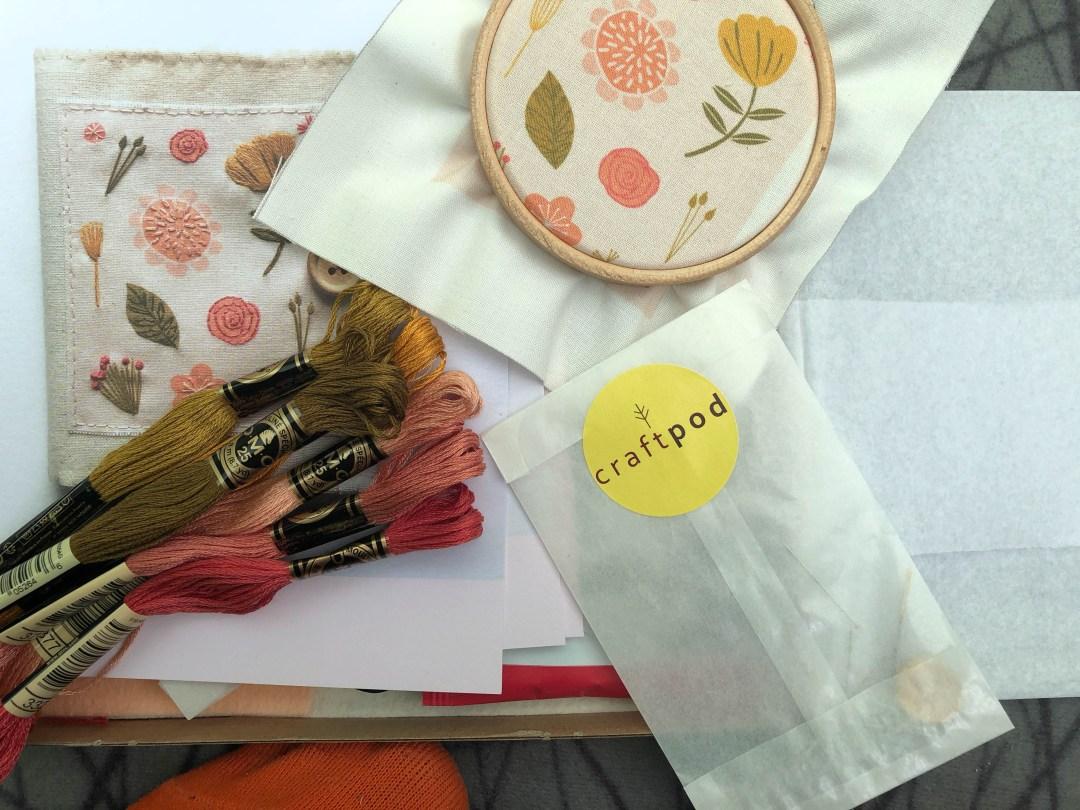 Mindful weekend sewing {Summer Craftpod}