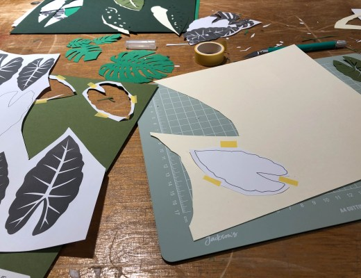 Paper cutting workshop at the Barbican Centre