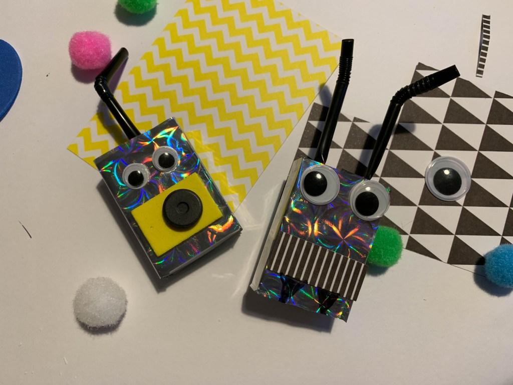 mini robot craft for kids to make