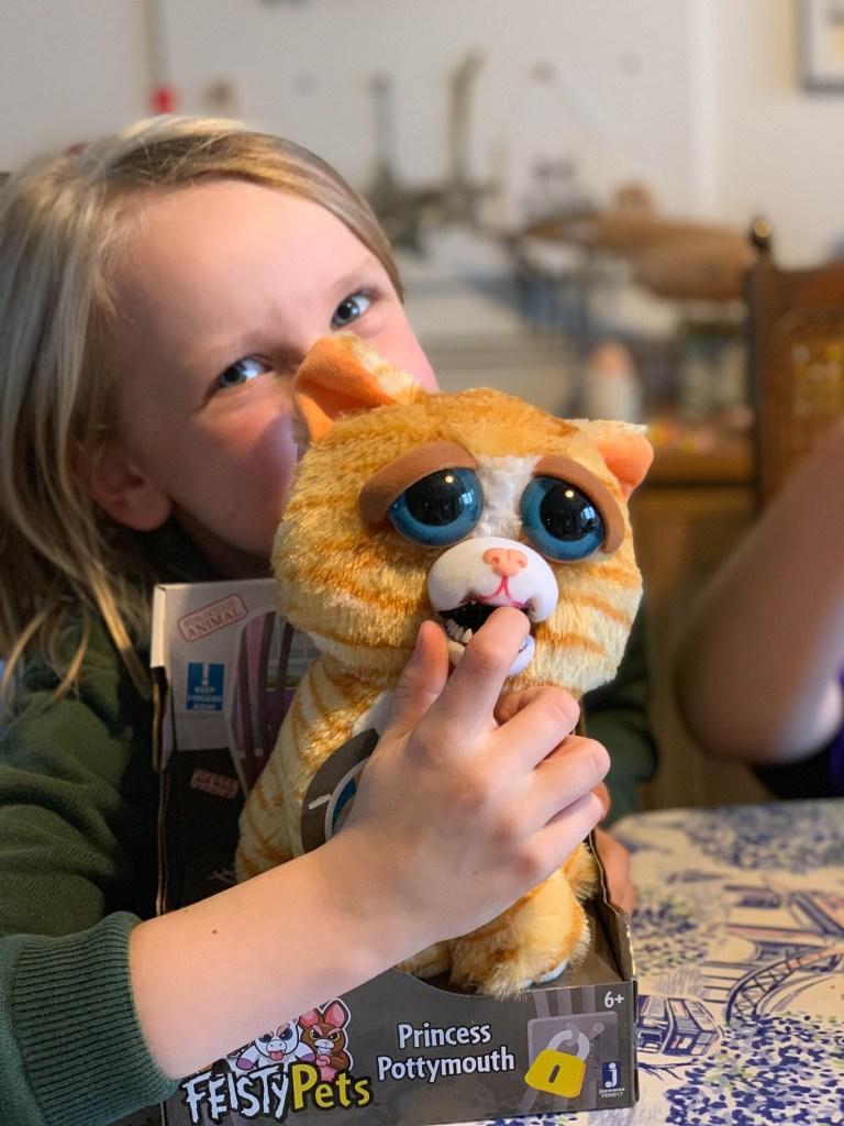 Feisty Pets Princess Pottymouth - Growl