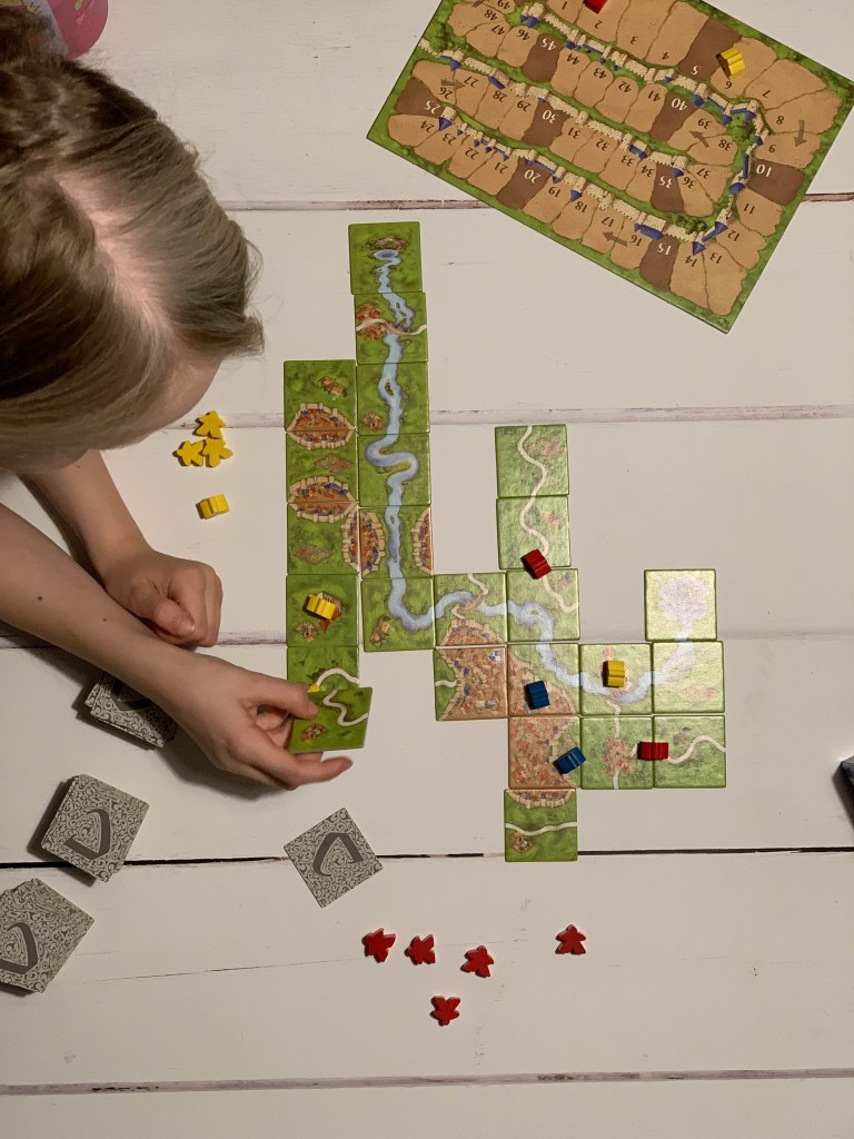Carcassonne layout