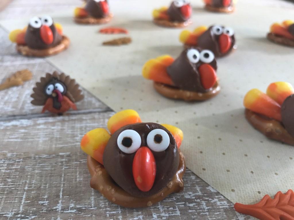 Rolo Turkey Pretzels