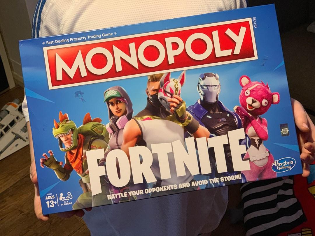 monopoly fortnite edition - fortnite monopoly gameplay