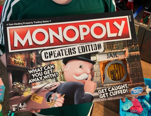 Monopoly Cheater's Edition from Hasbro Gaming review