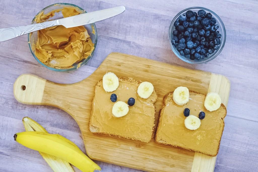 teddy bear toast for kids