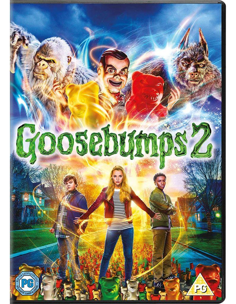 Win a bundle of Goosebumps 2 goodies