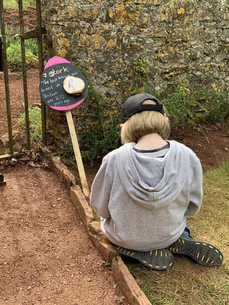 Easter egg hunt at NT Compton Castle