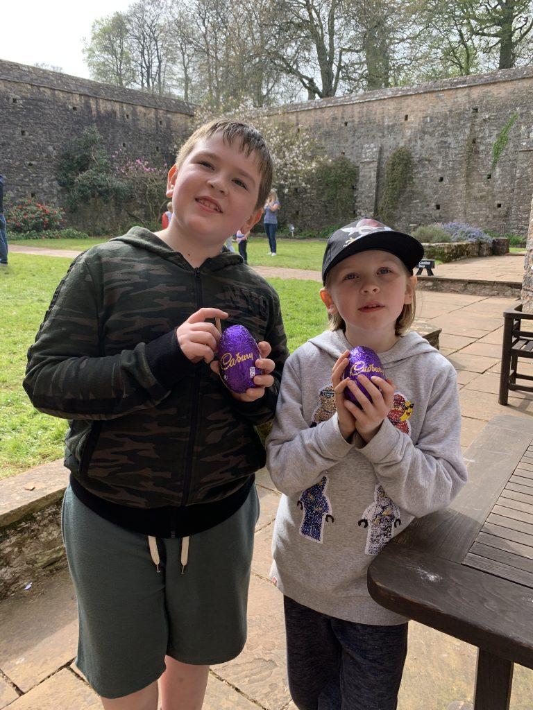 Cadburys Easter Egg hunt at NT Compton Castle
