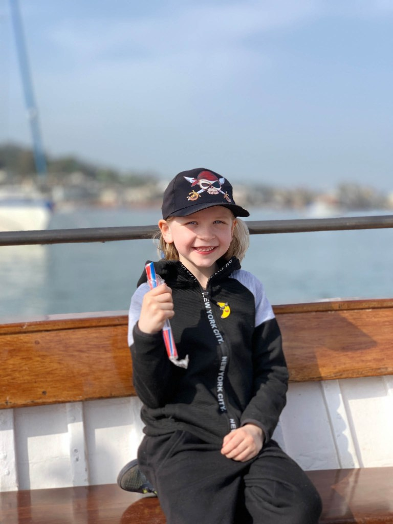 a trip on The Teign Ferry