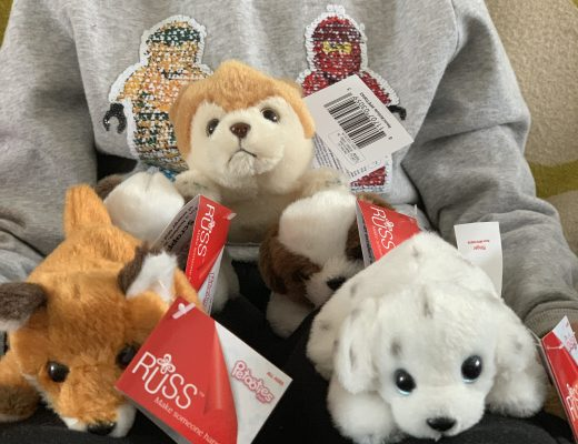 Collectable plush Petooties Pets