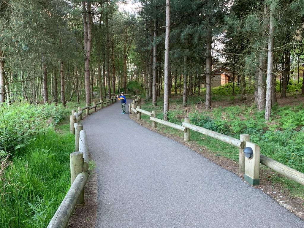 a walk through Centre Parcs