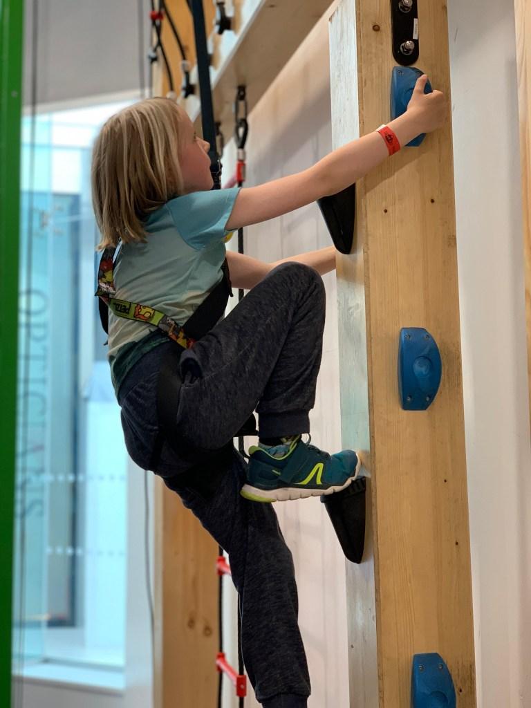 climbing at Rock Up Watford