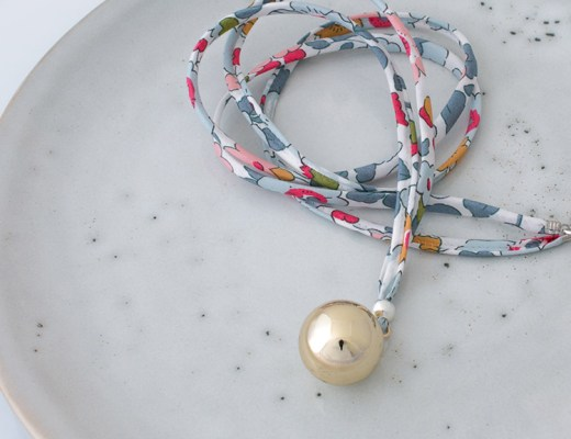 harmony ball pregnancy necklace from le petit bola