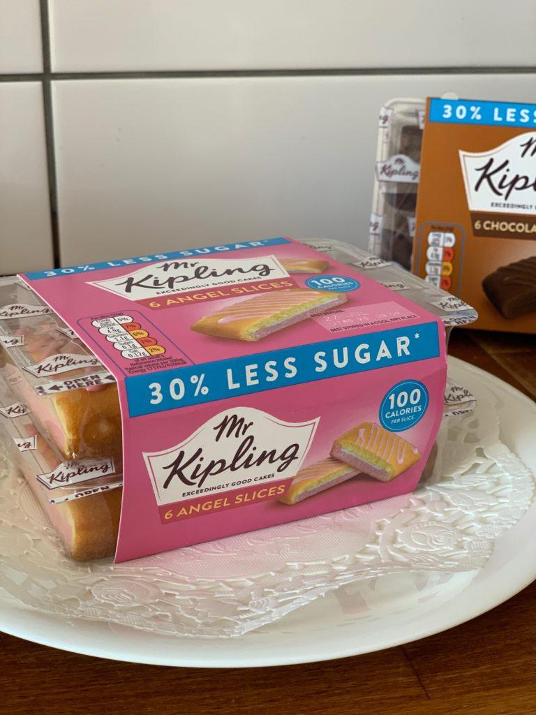 Mr Kipling reduced sugar Angel Slice