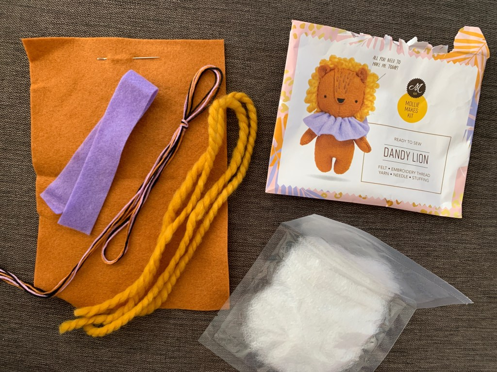 Felt Dandy Lion kit