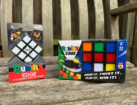 Win a Rubik's Cage and Rubik's Edge