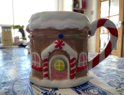 gingerbread house mug from Asda