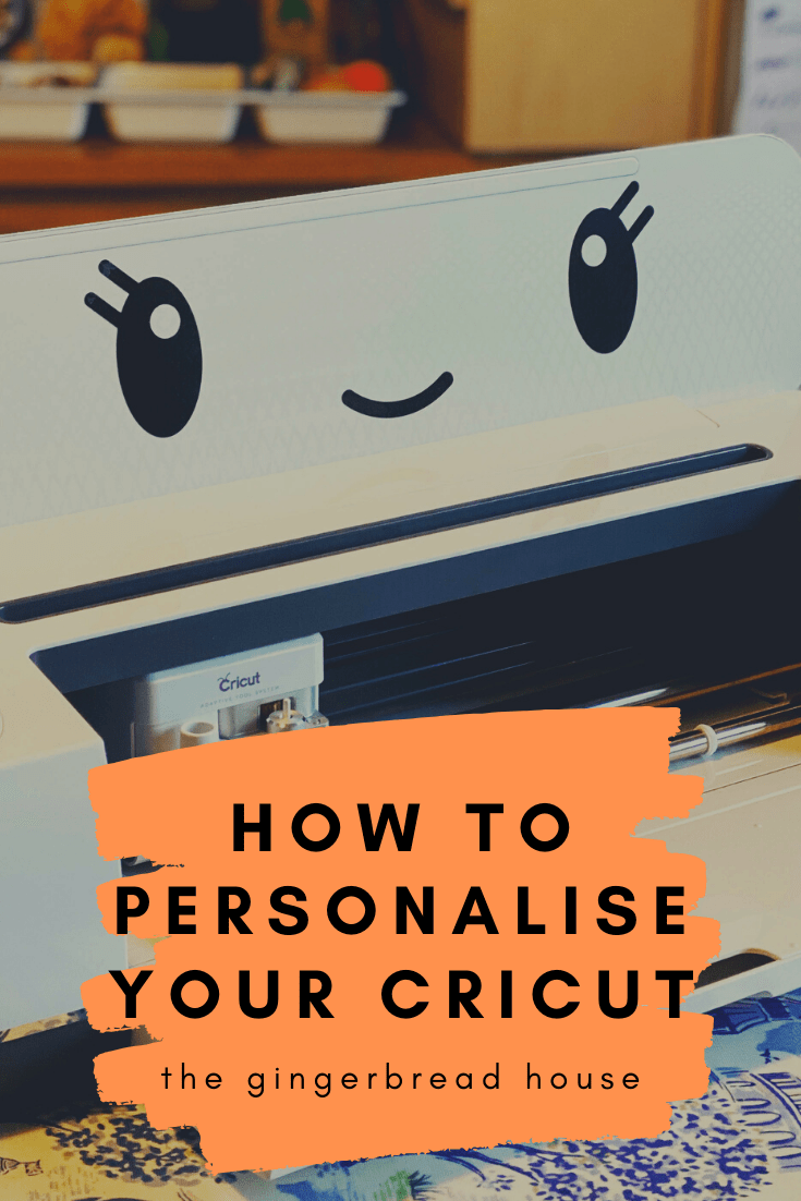 How to personalise your Cricut machine
