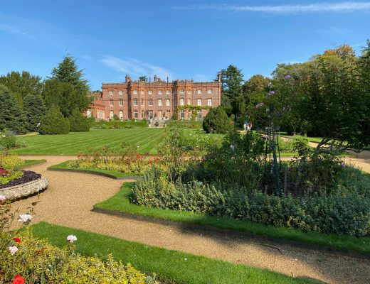 A socially-distanced visit to Hughenden Manor
