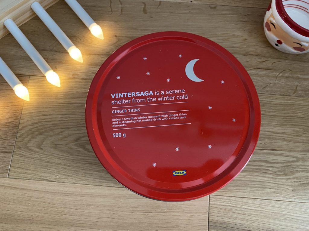 Ikea Vintersaga Ginger Thins