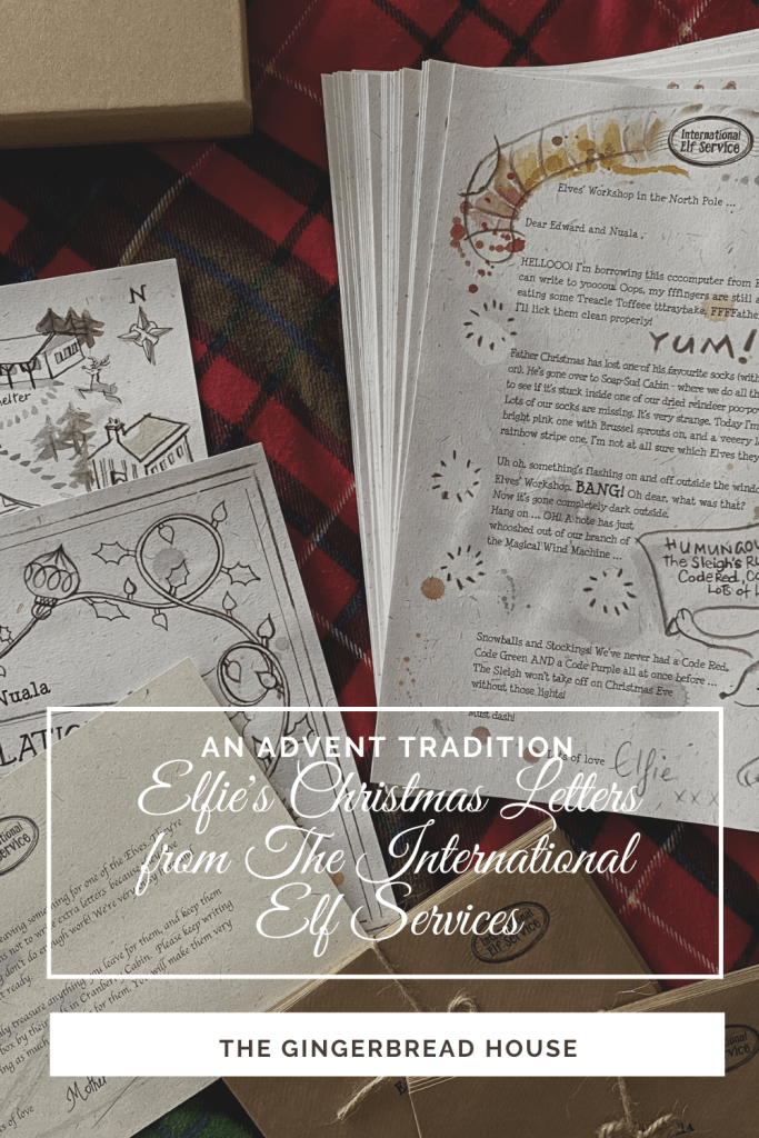 An Advent tradition - Elfie's Christmas Letters