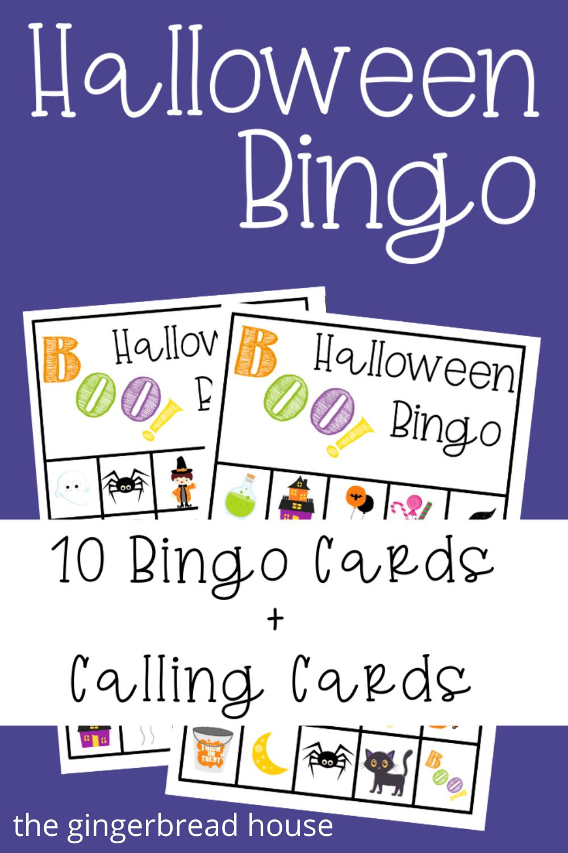 {Free printable} Halloween Bingo