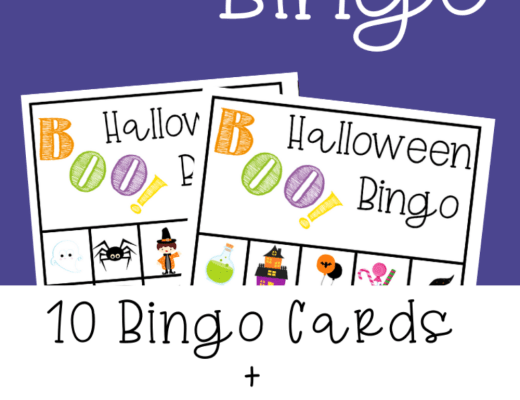 {Free printable} Halloween Bingo
