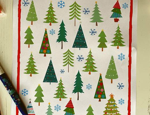 Christmas tree countdown for kids