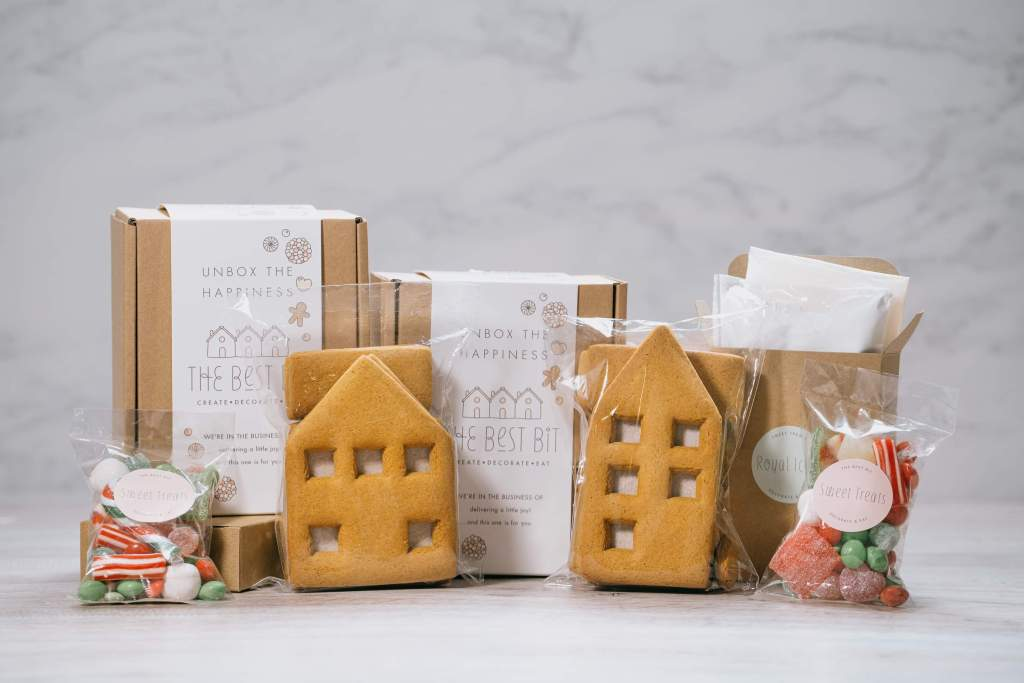 Win a gingerbread Town House and Cottage from The Best Bit