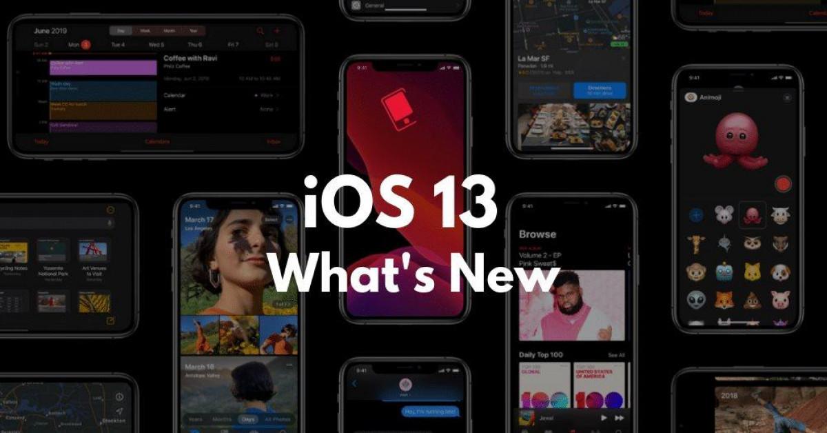 iOS 13 vừa ra mắt, đây là các tính năng mới nổi bật nhất