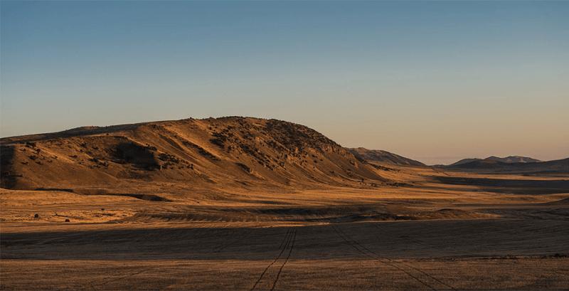 zoutmeer stad woestijn berg